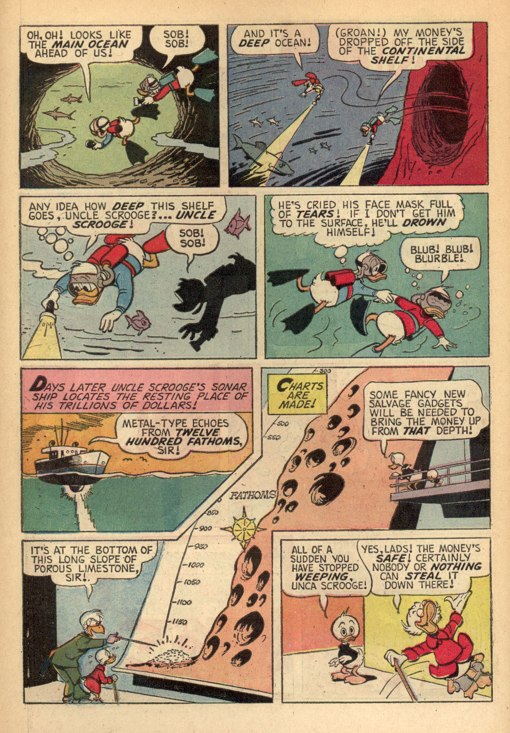Read online Uncle Scrooge (1953) comic -  Issue #68 - 6