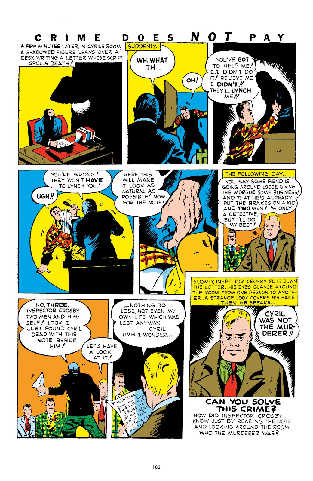Read online Crime Does Not Pay Archives comic -  Issue # TPB 1 (Part 2) - 85