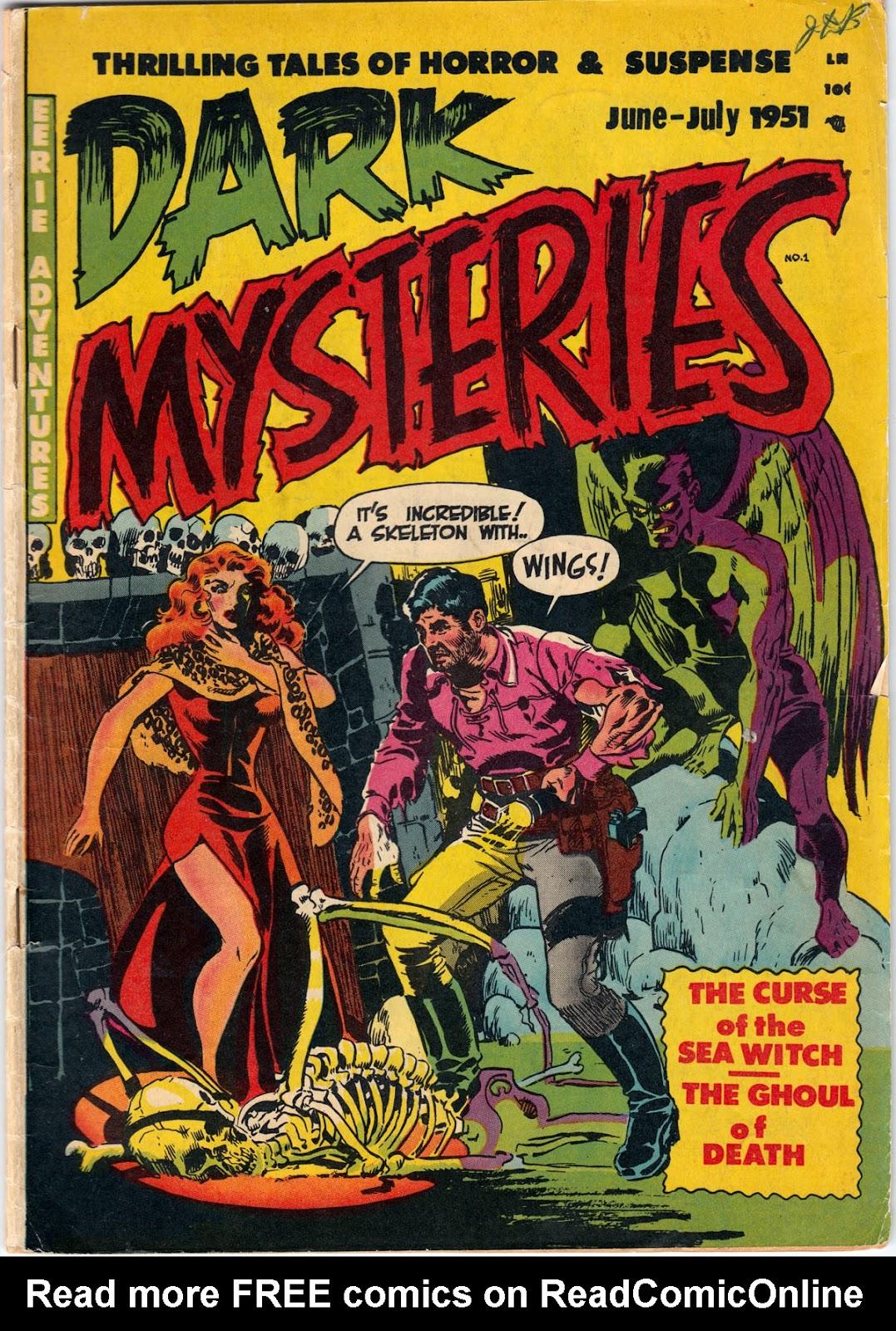 Dark Mysteries issue 1 - Page 1