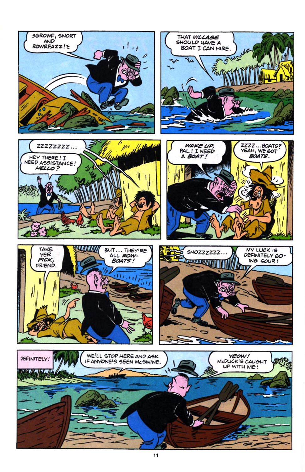 Read online Uncle Scrooge (1953) comic -  Issue #249 - 13