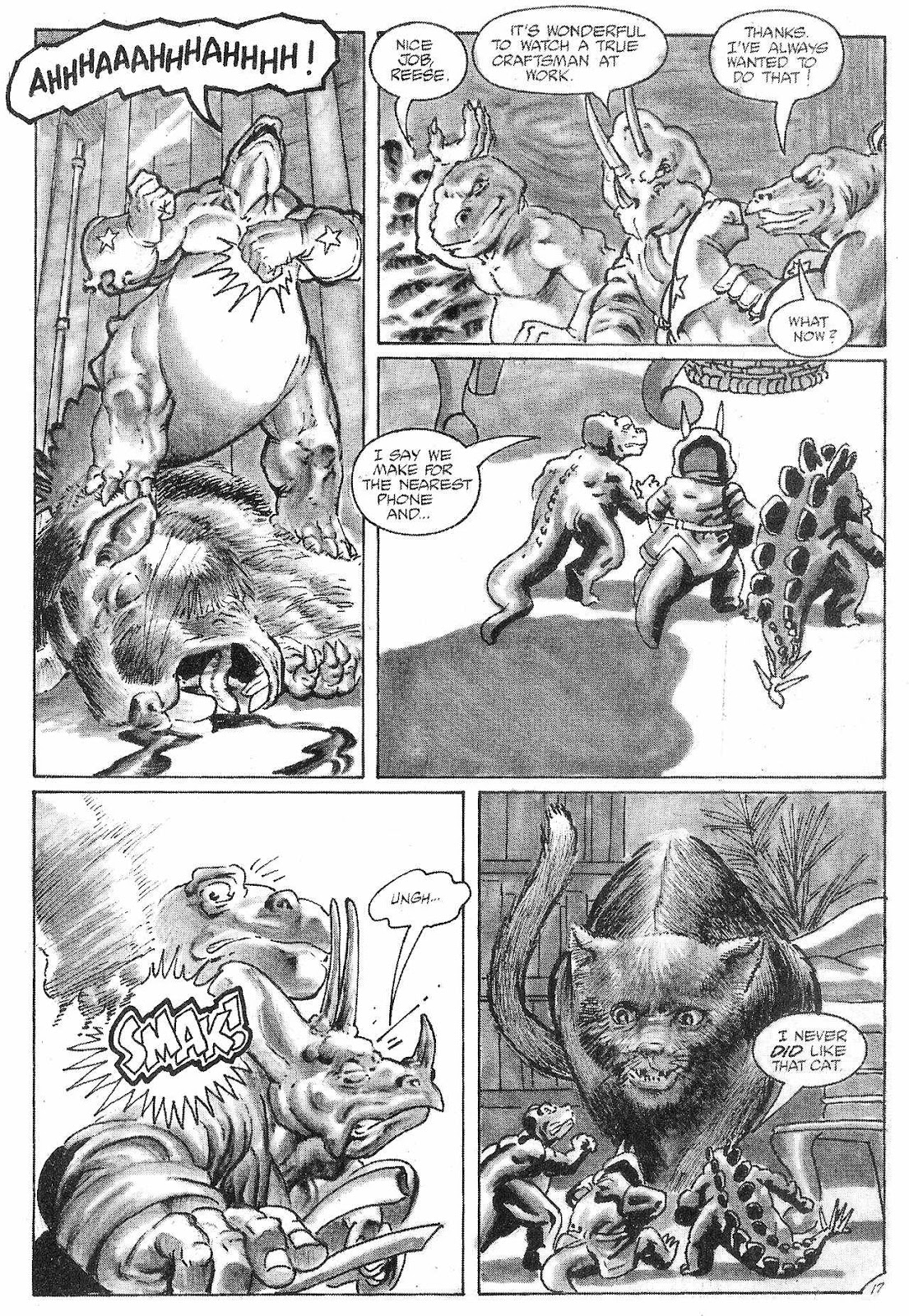 Dinosaurs For Hire (1988) issue 6 - Page 19