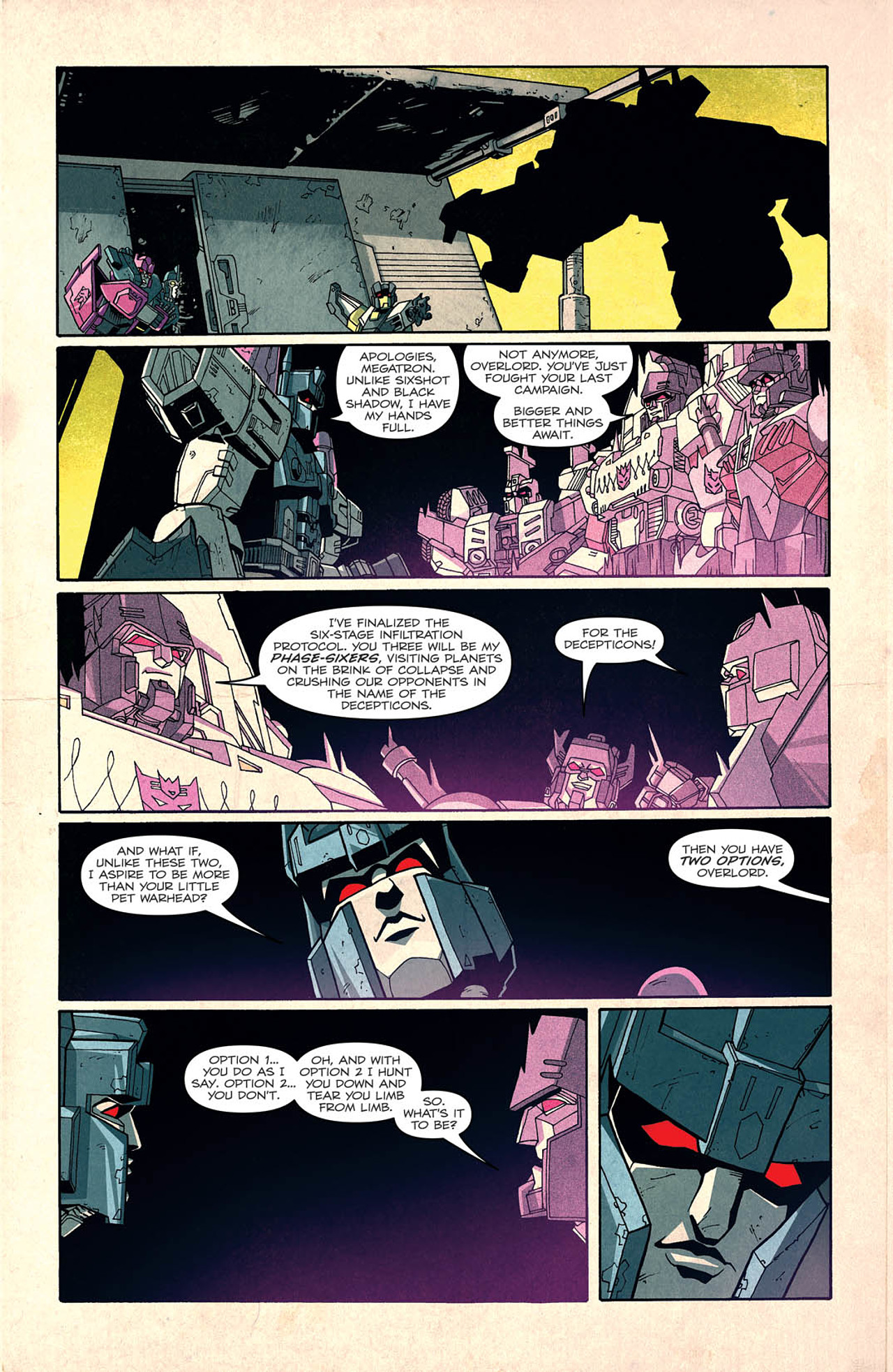 Read online Transformers: Last Stand of The Wreckers comic -  Issue #2 - 6