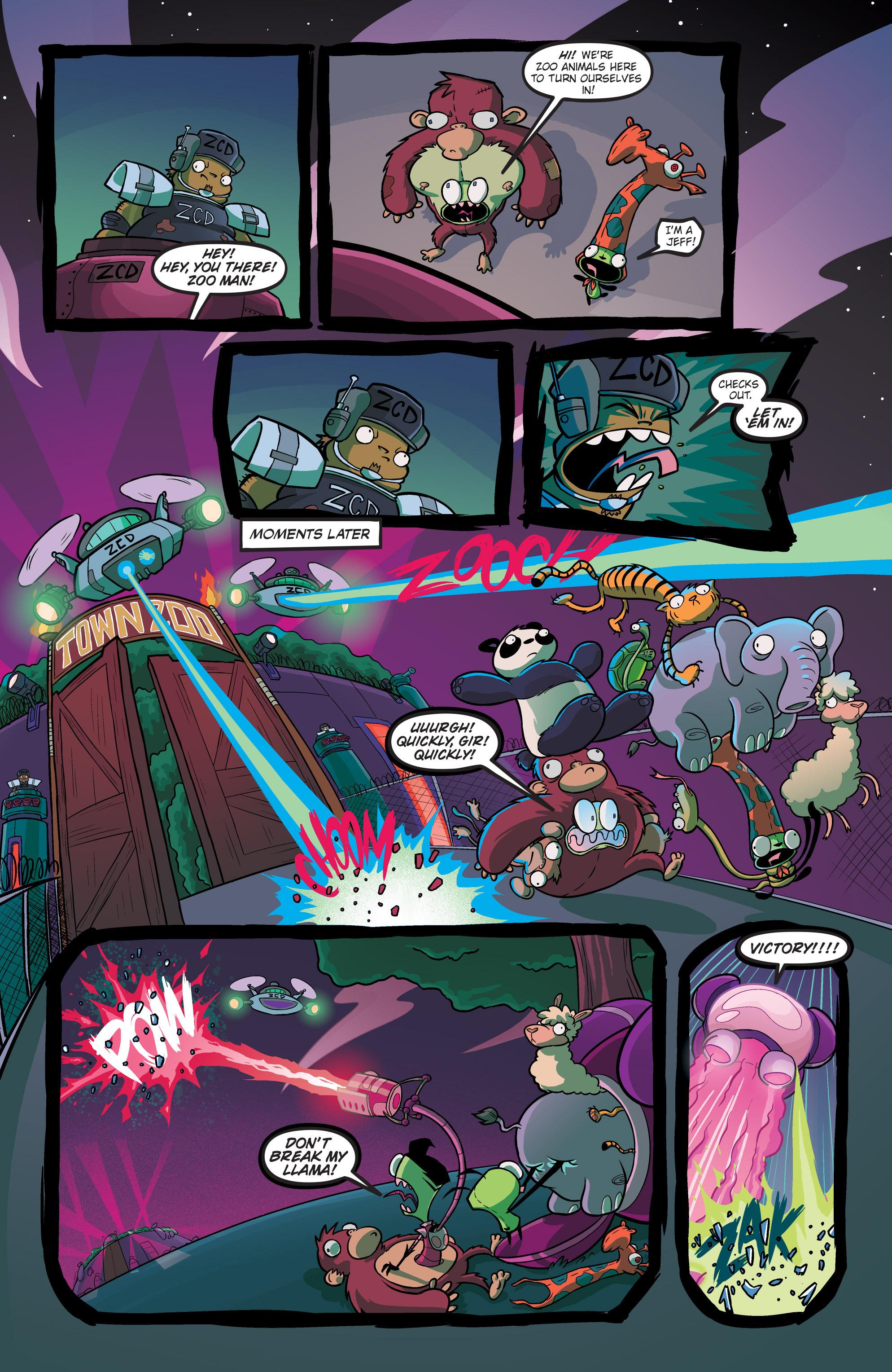 Read online Invader Zim comic -  Issue #19 - 19
