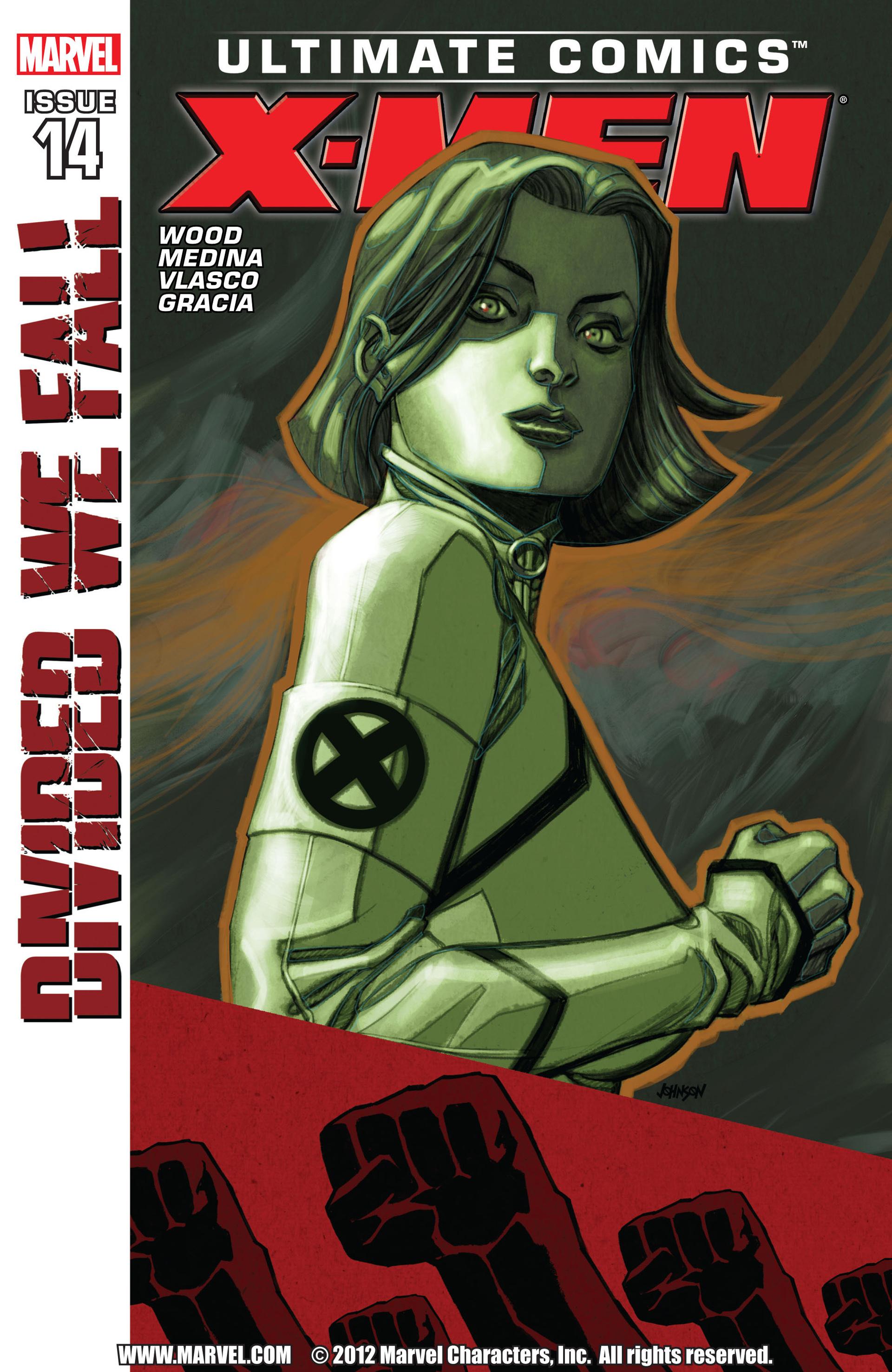 Read online Ultimate Comics X-Men comic -  Issue #14 - 1