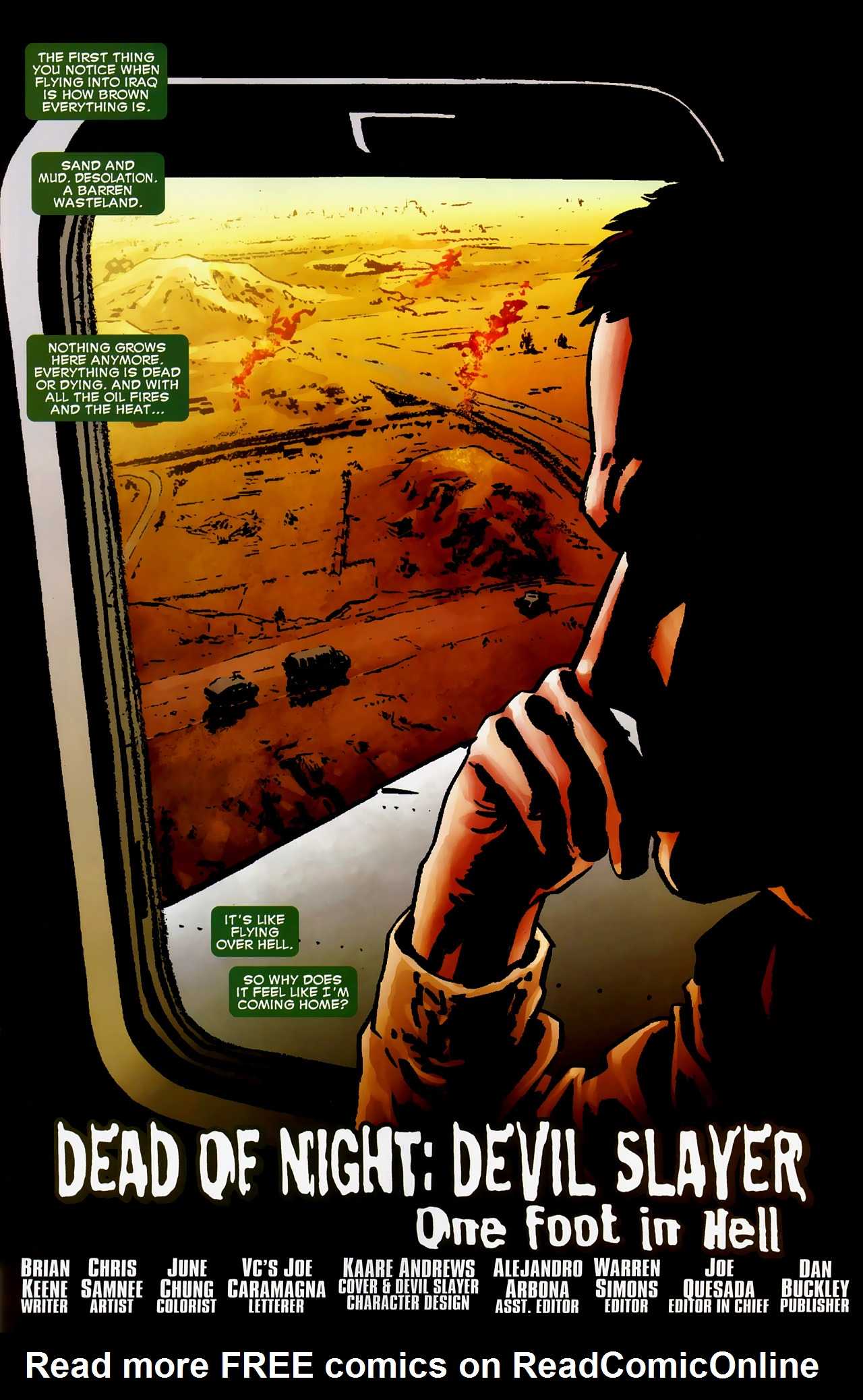 Read online Dead of Night Featuring Devil-Slayer comic -  Issue #1 - 2