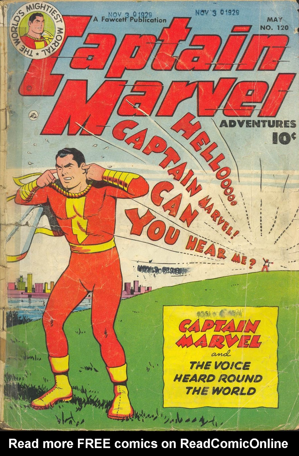 Captain Marvel Adventures 120 Page 1