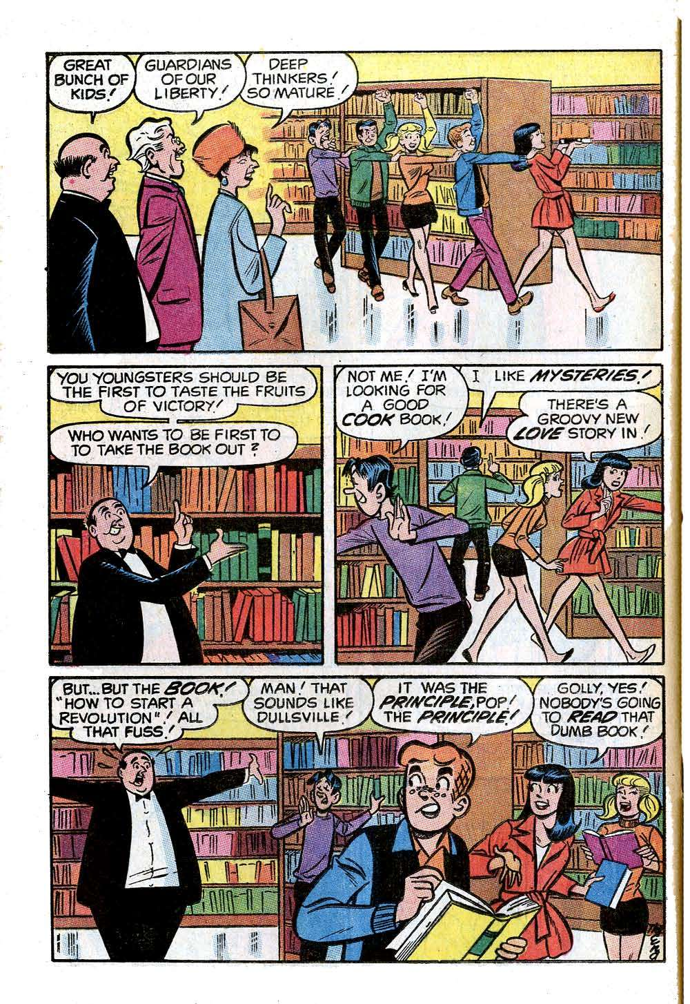 Read online Archie (1960) comic -  Issue #205 - 24