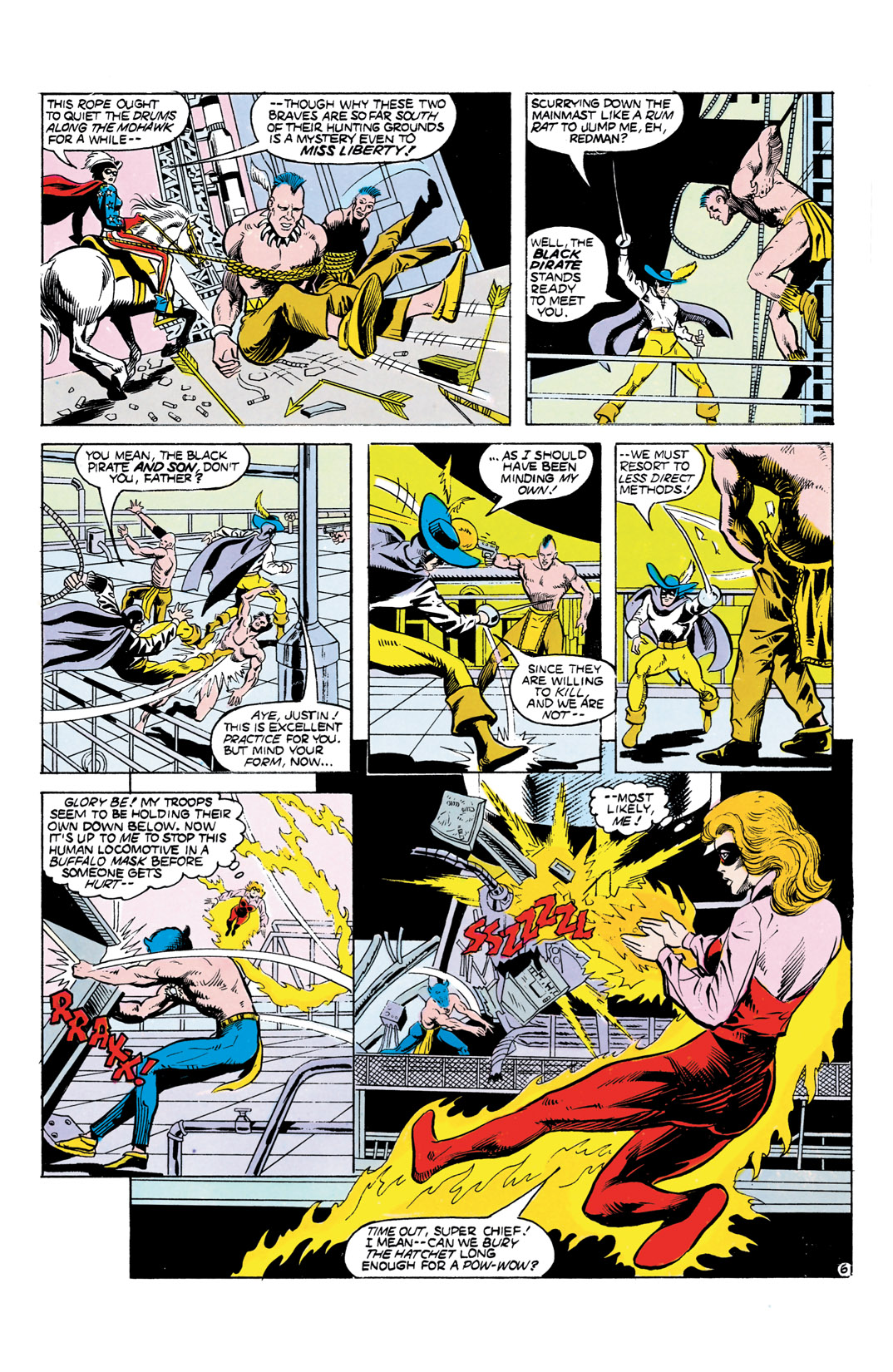 Read online All-Star Squadron comic -  Issue #55 - 7