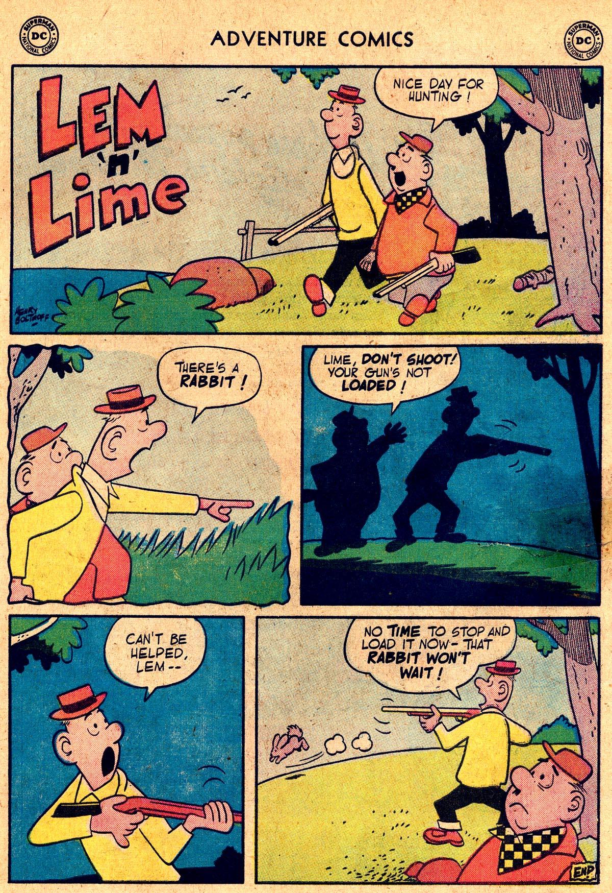 Read online Adventure Comics (1938) comic -  Issue #238 - 33