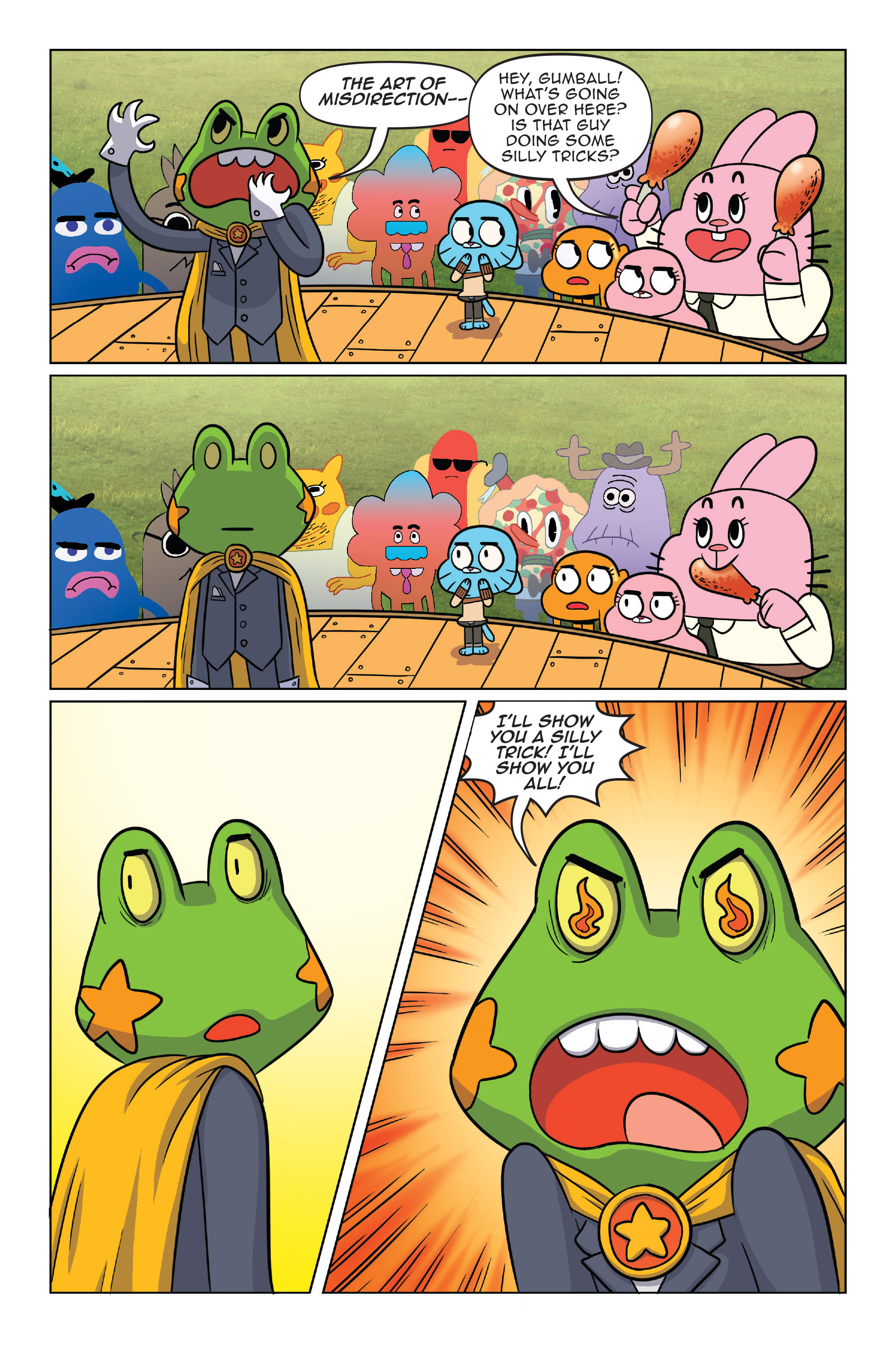 Read online The Amazing World of Gumball: Fairy Tale Trouble comic -  Issue # Full - 28