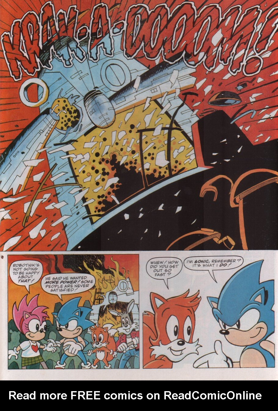 Read online Sonic the Comic comic -  Issue #100 - 25