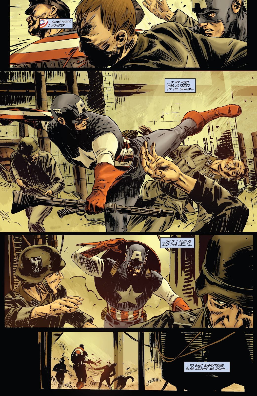 Read online Captain America Theater Of War: Operation Zero-Point comic -  Issue # Full - 21