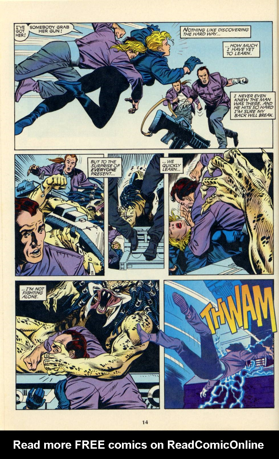 Read online Aliens/Predator: The Deadliest of the Species comic -  Issue #4 - 15