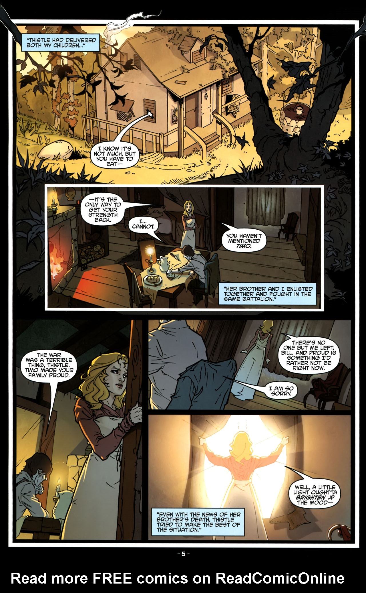 Read online True Blood (2010) comic -  Issue #6 - 8