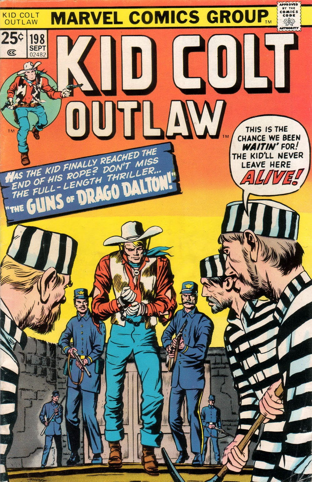 Kid Colt Outlaw issue 198 - Page 1