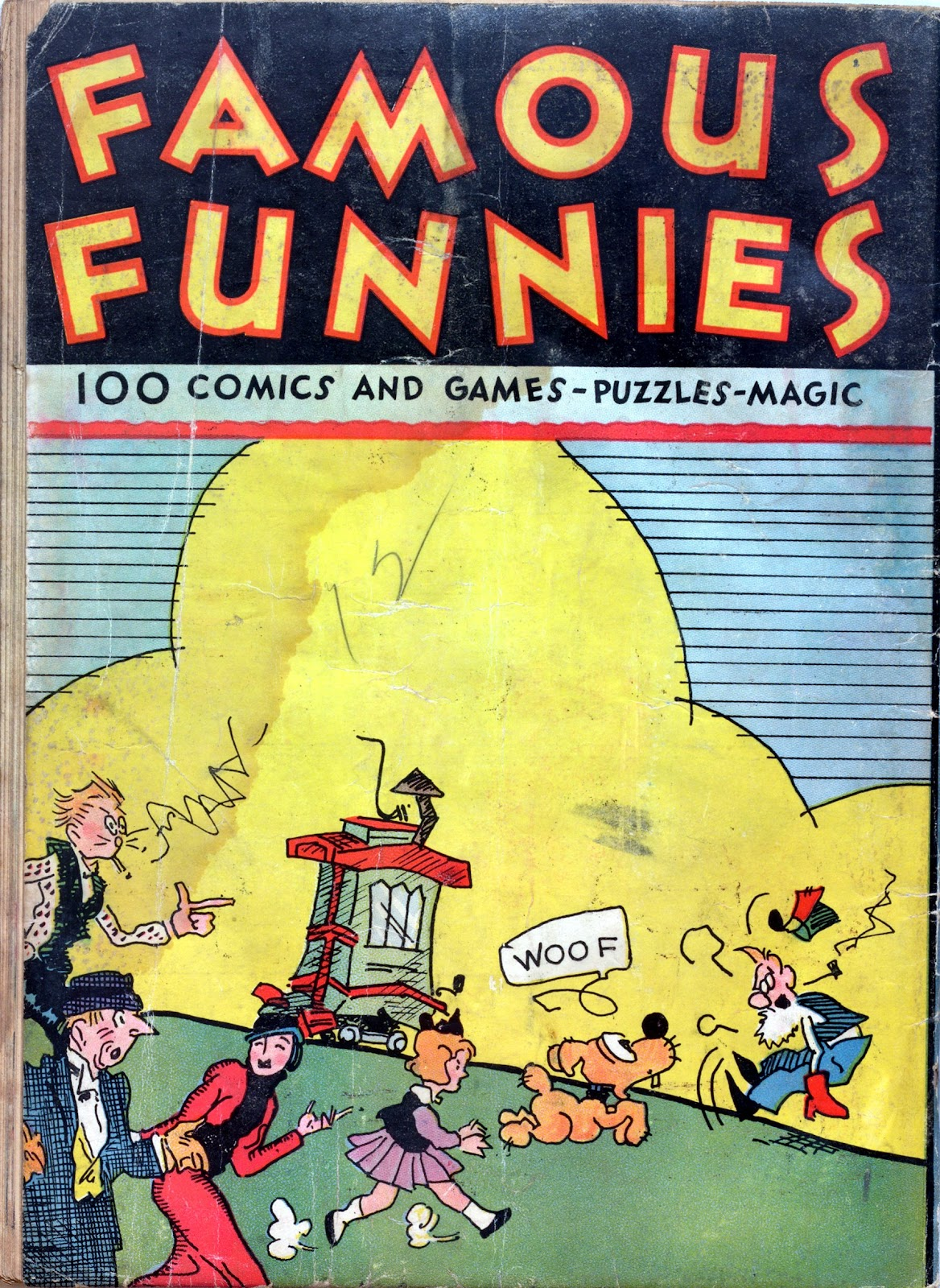 Read online Famous Funnies comic -  Issue #1 - 68