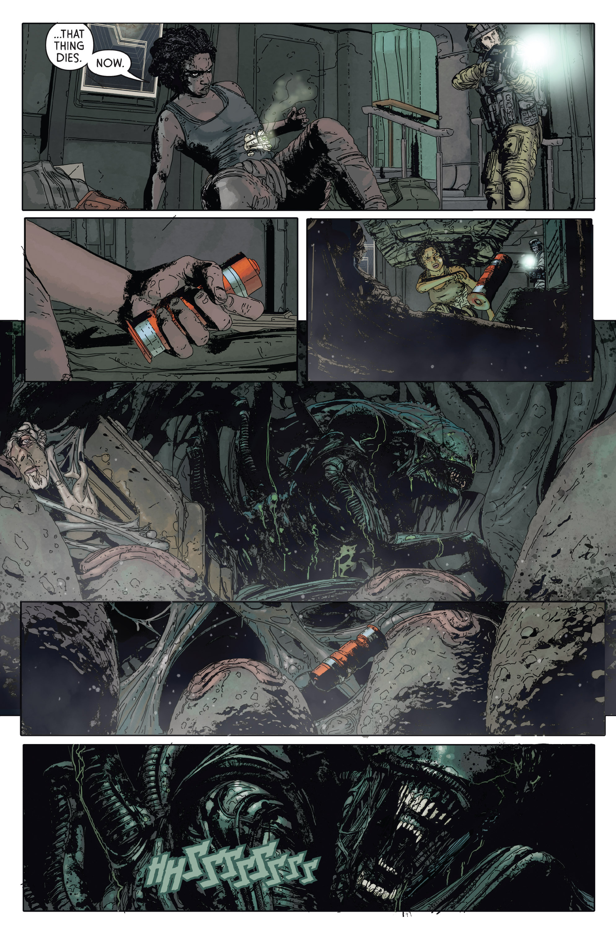 Read online Aliens: Defiance comic -  Issue #2 - 20