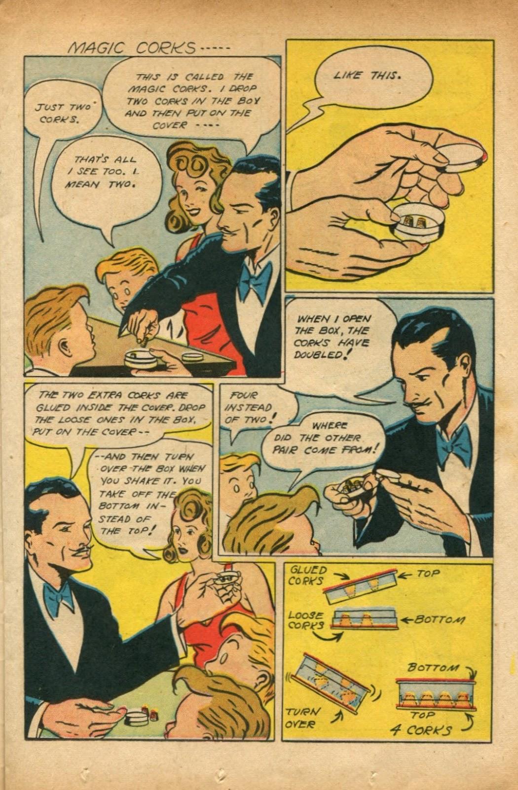 Read online Super-Magician Comics comic -  Issue #51 - 19