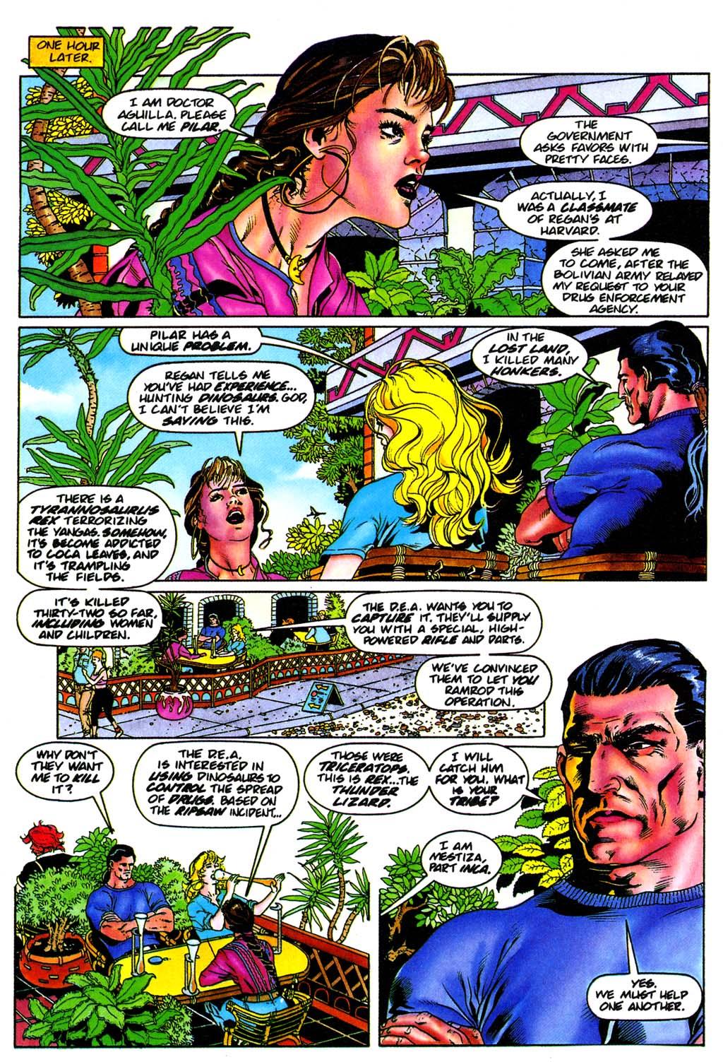 Read online Turok, Dinosaur Hunter (1993) comic -  Issue #28 - 4