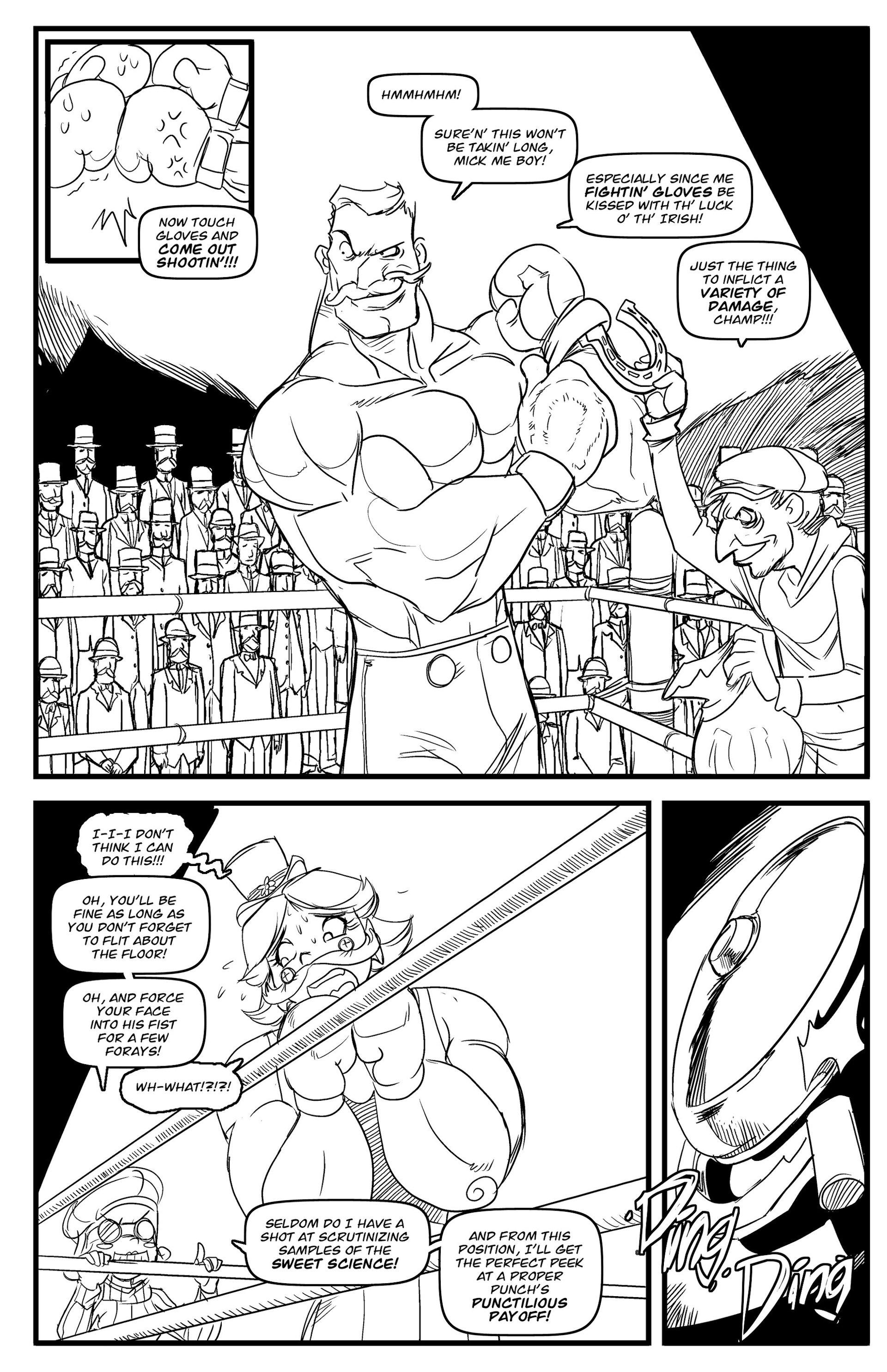Read online Steampunk Halloween 2012 comic -  Issue # Full - 22