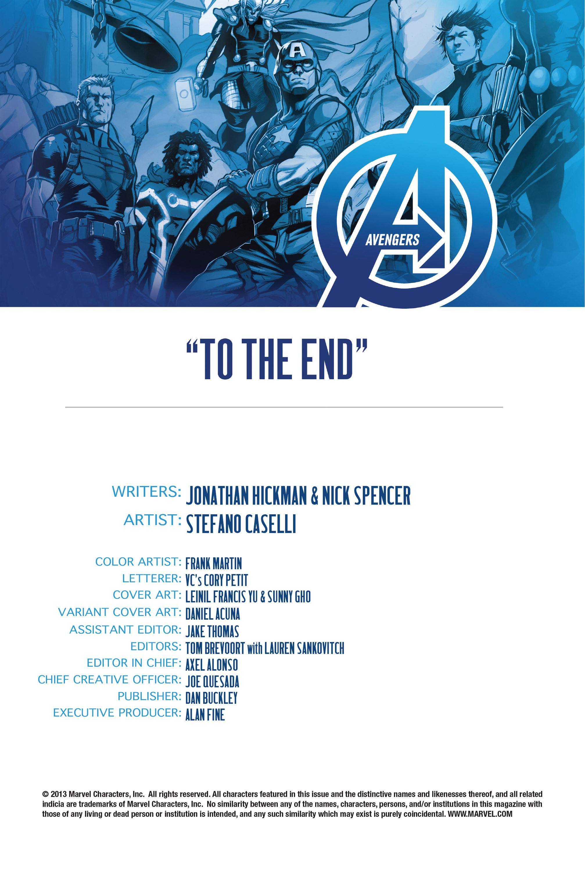 Read online Avengers (2013) comic -  Issue #Avengers (2013) _TPB 3 - 104