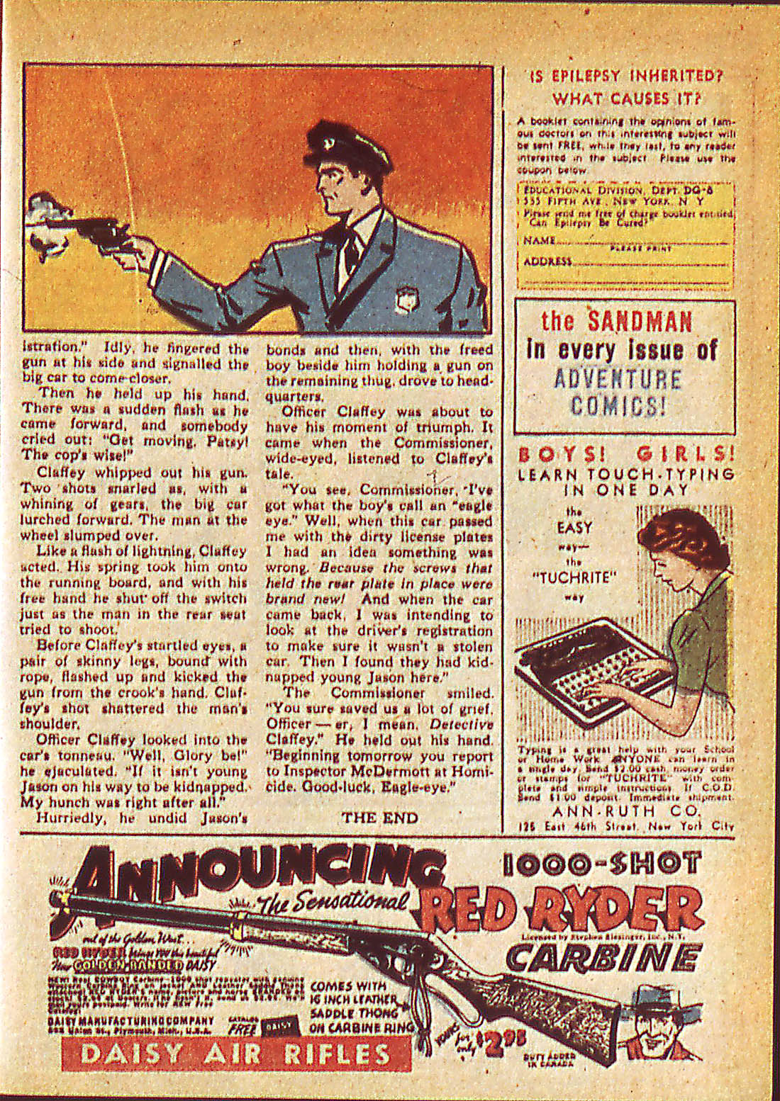 Read online Detective Comics (1937) comic -  Issue #42 - 31