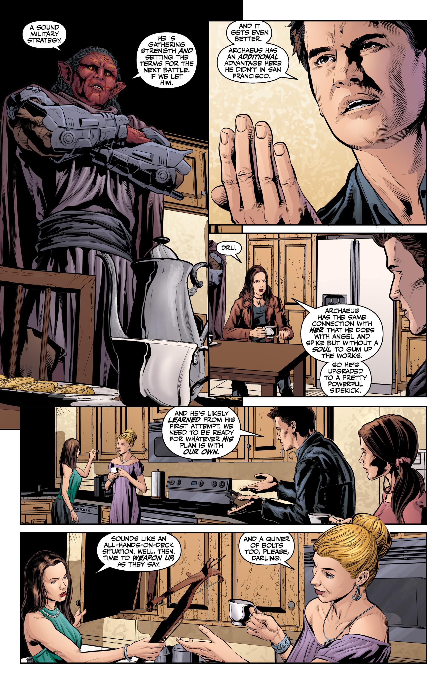 Read online Angel & Faith Season 10 comic -  Issue #19 - 10