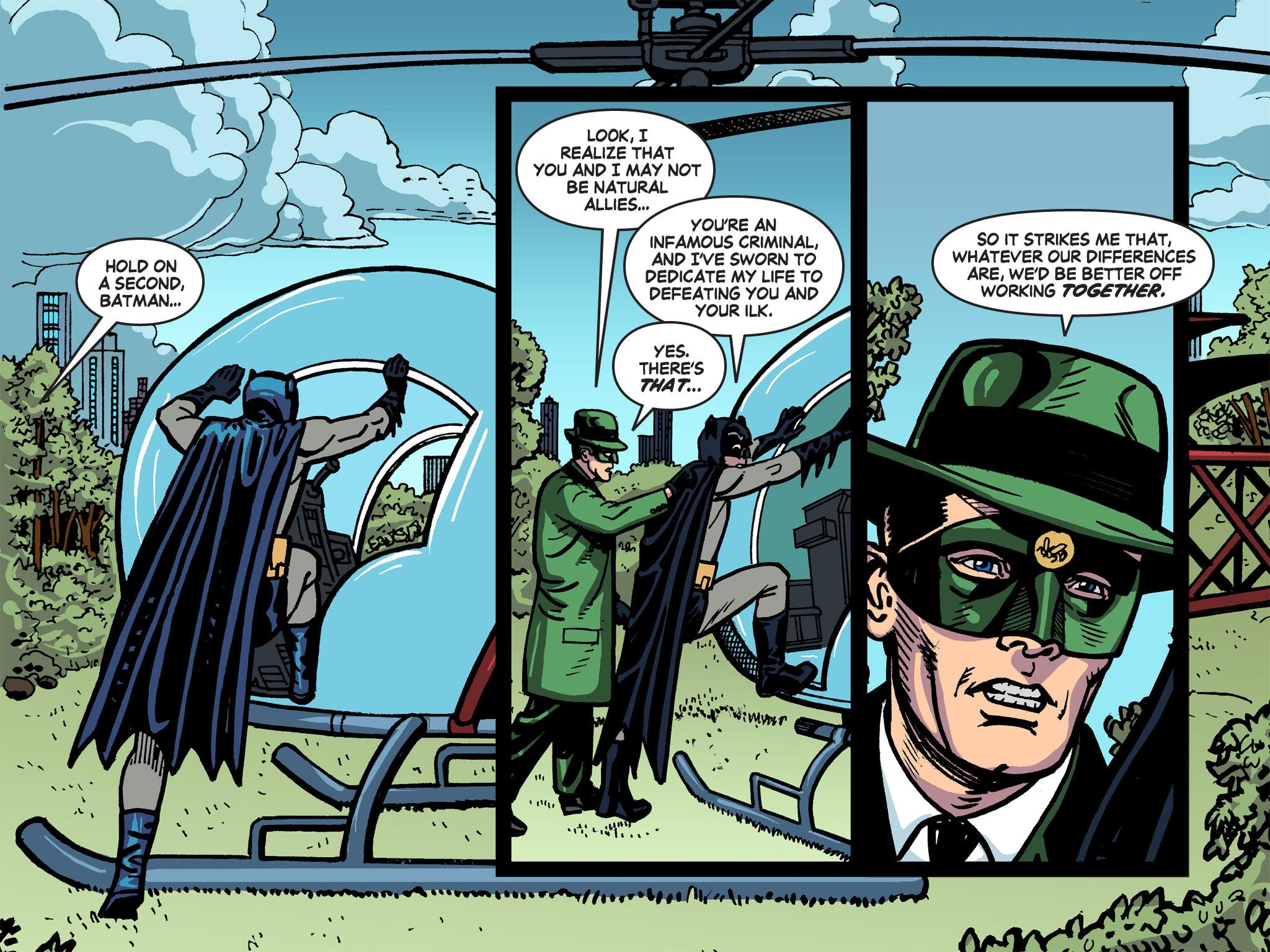 Read online Batman '66 Meets the Green Hornet [II] comic -  Issue #5 - 36