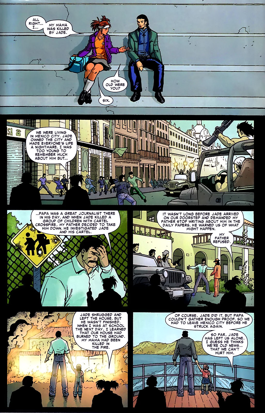 Read online Araña: Heart of the Spider comic -  Issue #10 - 7