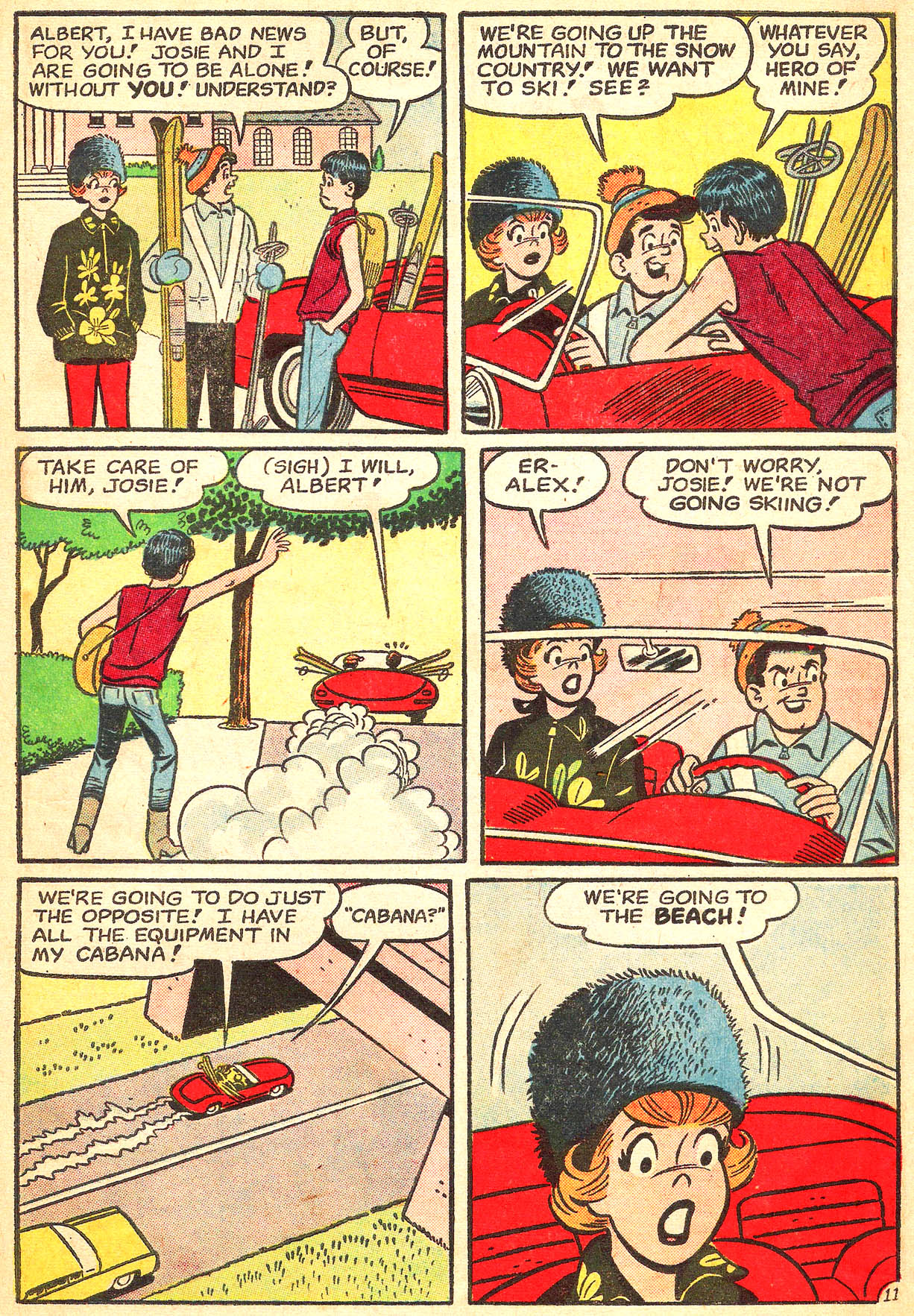 Read online She's Josie comic -  Issue #8 - 15
