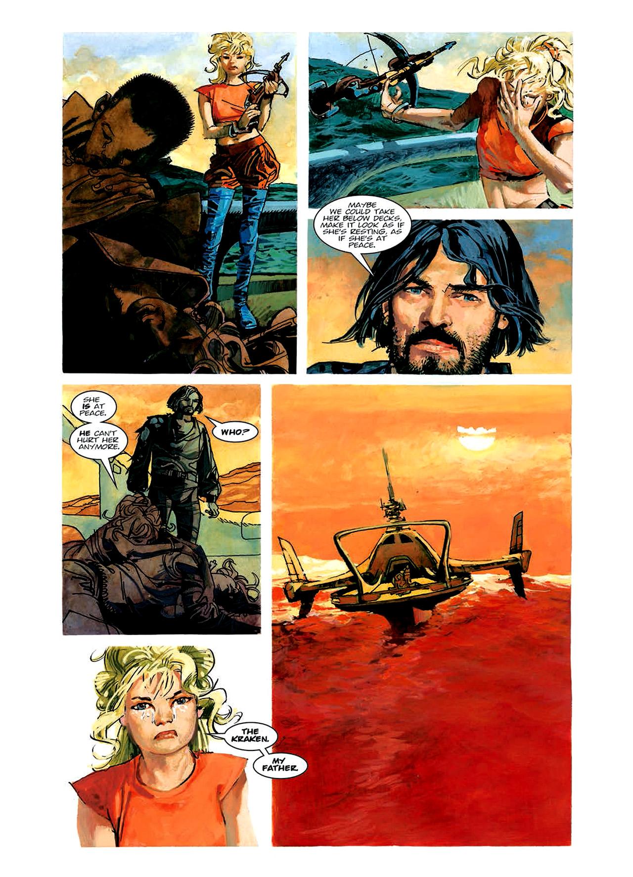 Read online Nikolai Dante comic -  Issue # TPB 6 - 91
