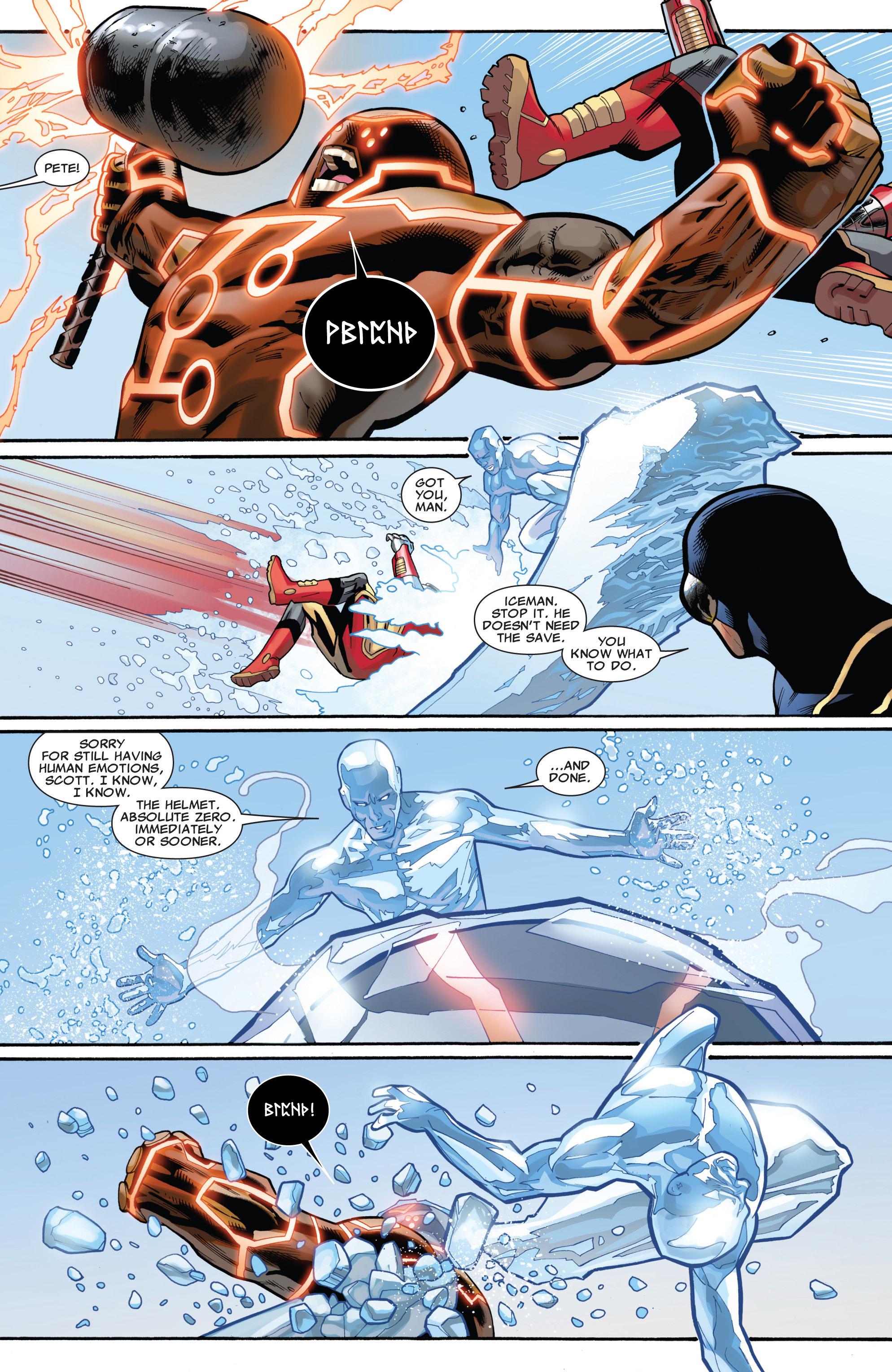 Read online Uncanny X-Men (1963) comic -  Issue #541 - 10