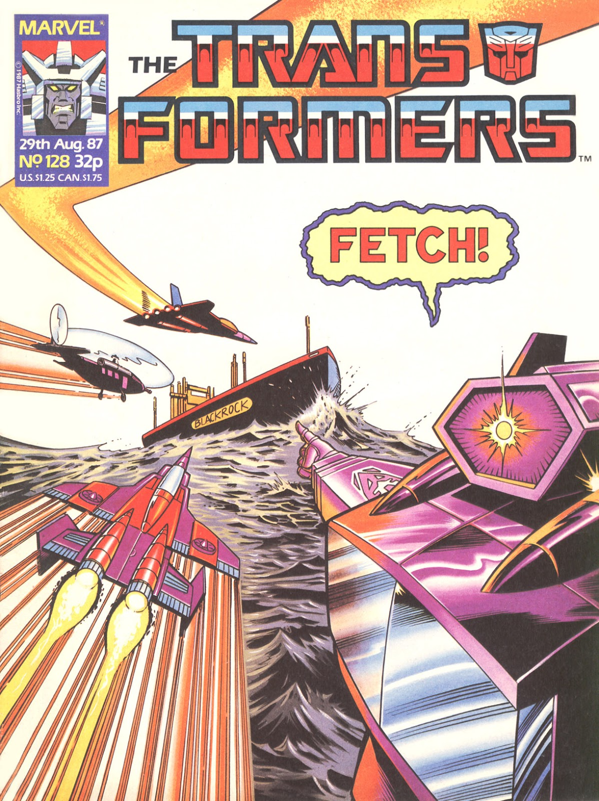 The Transformers (UK) 128 Page 1