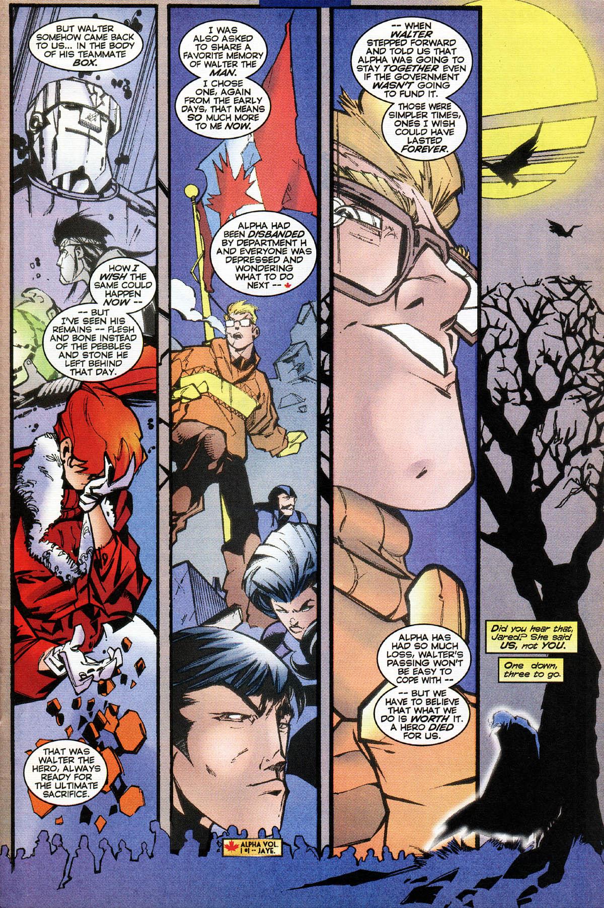 Read online Alpha Flight (1997) comic -  Issue #14 - 12