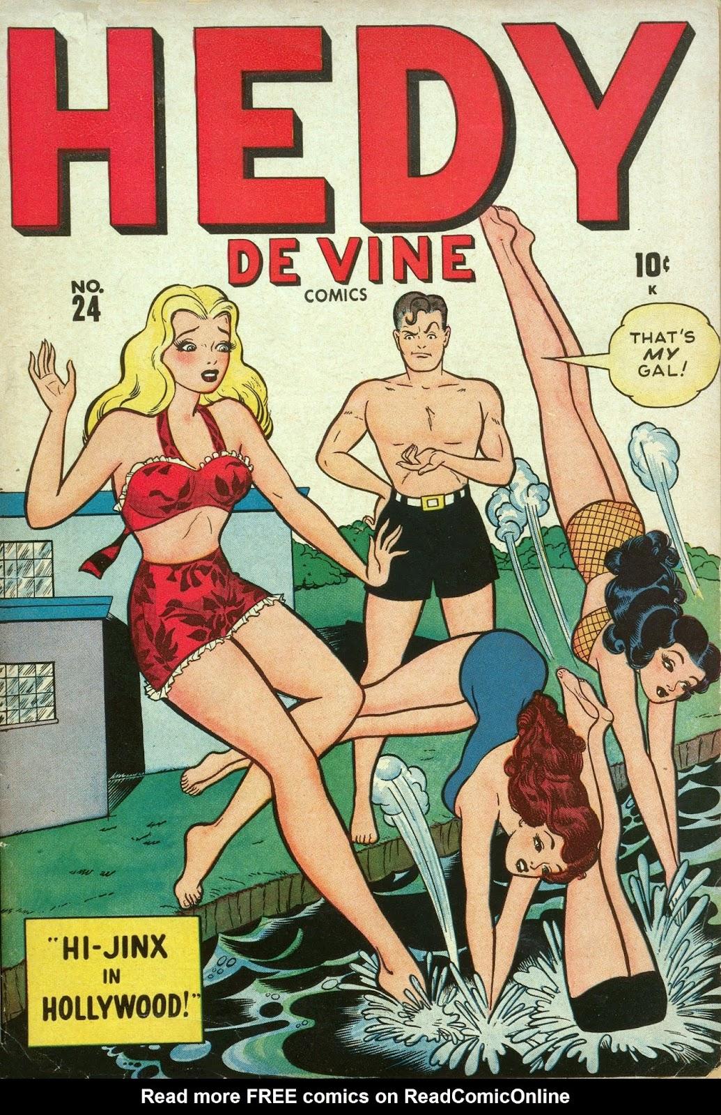 Hedy De Vine Comics issue 24 - Page 1