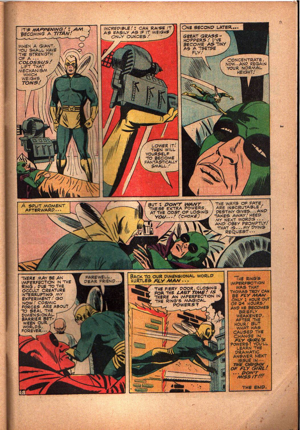 The Mighty Crusaders (1965) Issue #3 #3 - English 28
