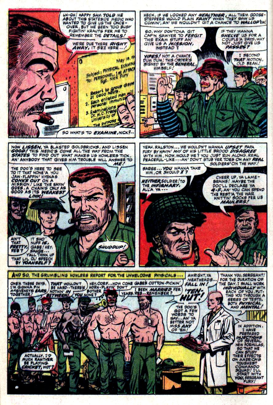 Read online Sgt. Fury comic -  Issue #32 - 4