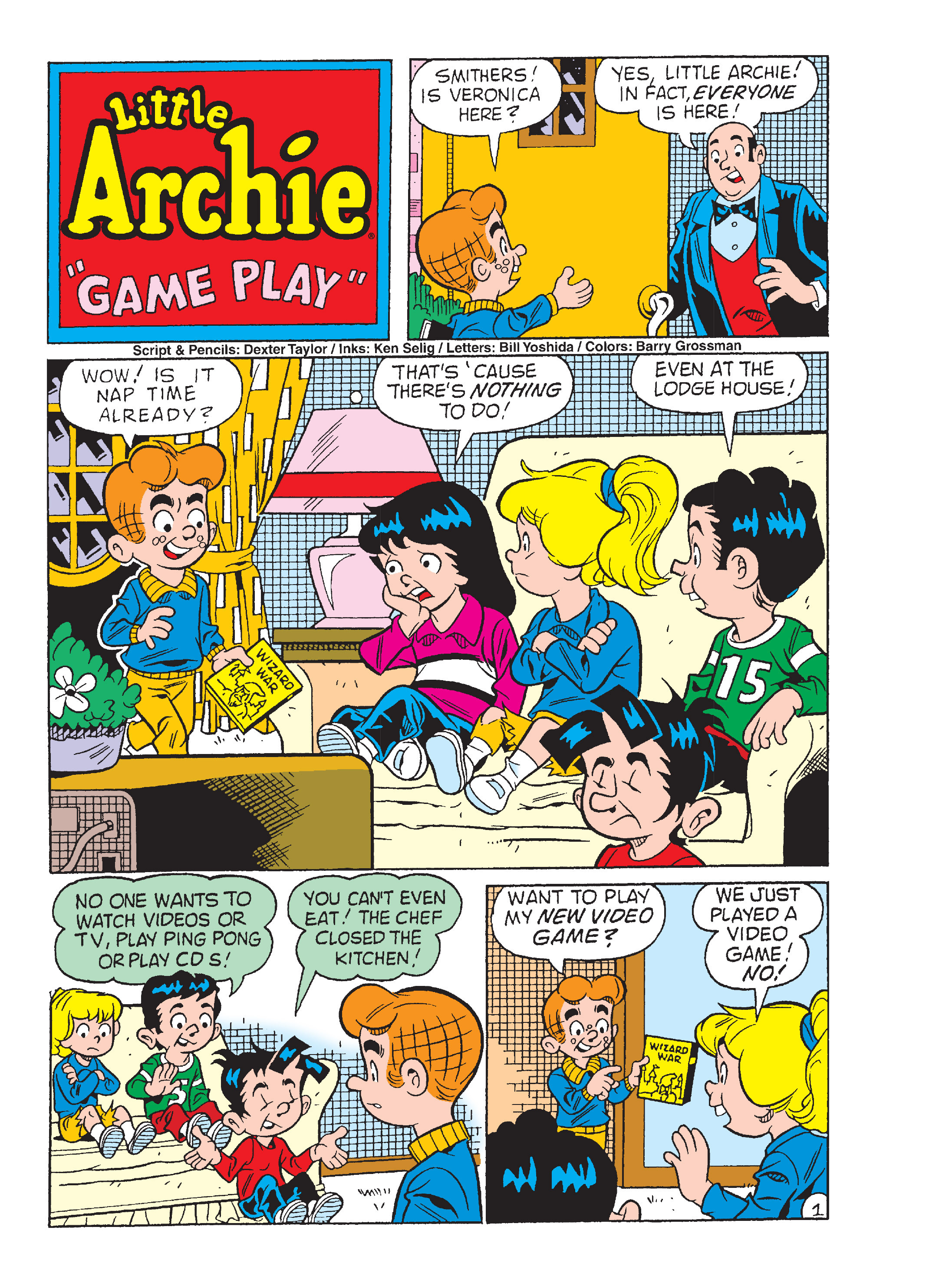 Read online Archie's Funhouse Double Digest comic -  Issue #13 - 134