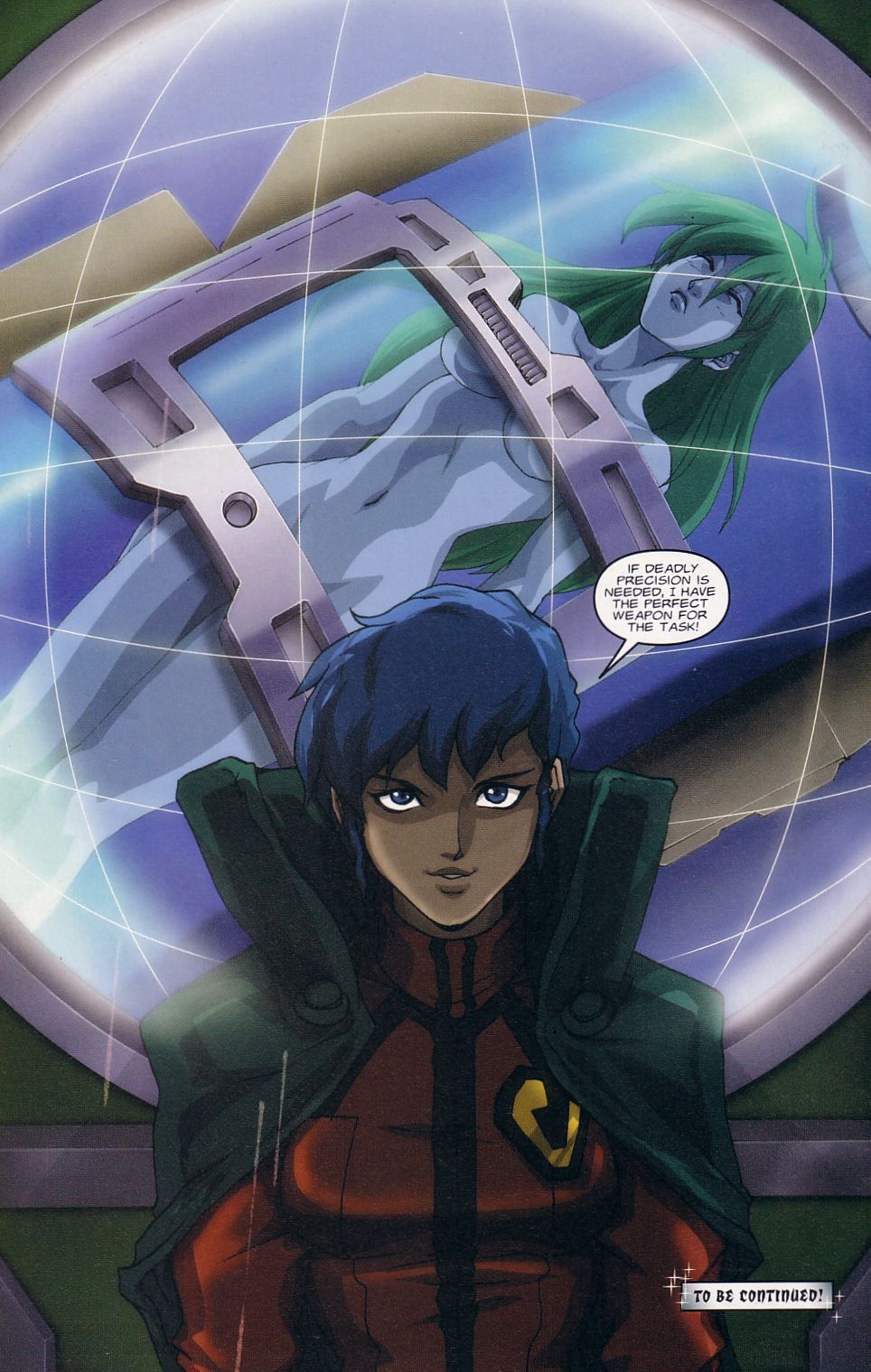 Read online Robotech: Love and War comic -  Issue #1 - 16