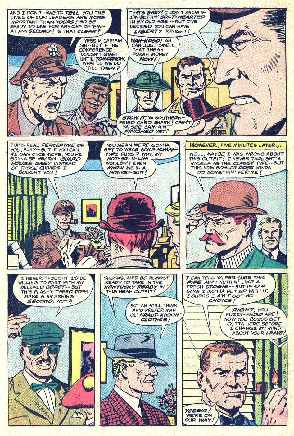 Read online Sgt. Fury comic -  Issue #146 - 12