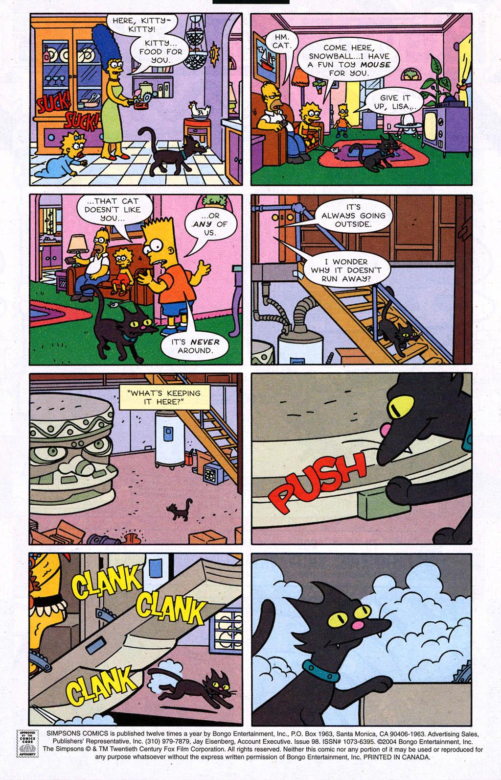 Read online Simpsons Comics comic -  Issue #98 - 2