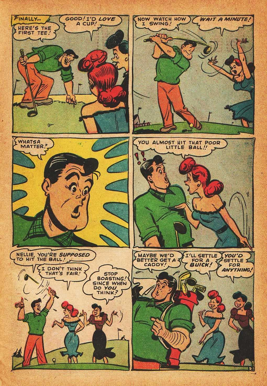 Read online Nellie The Nurse (1945) comic -  Issue #32 - 31