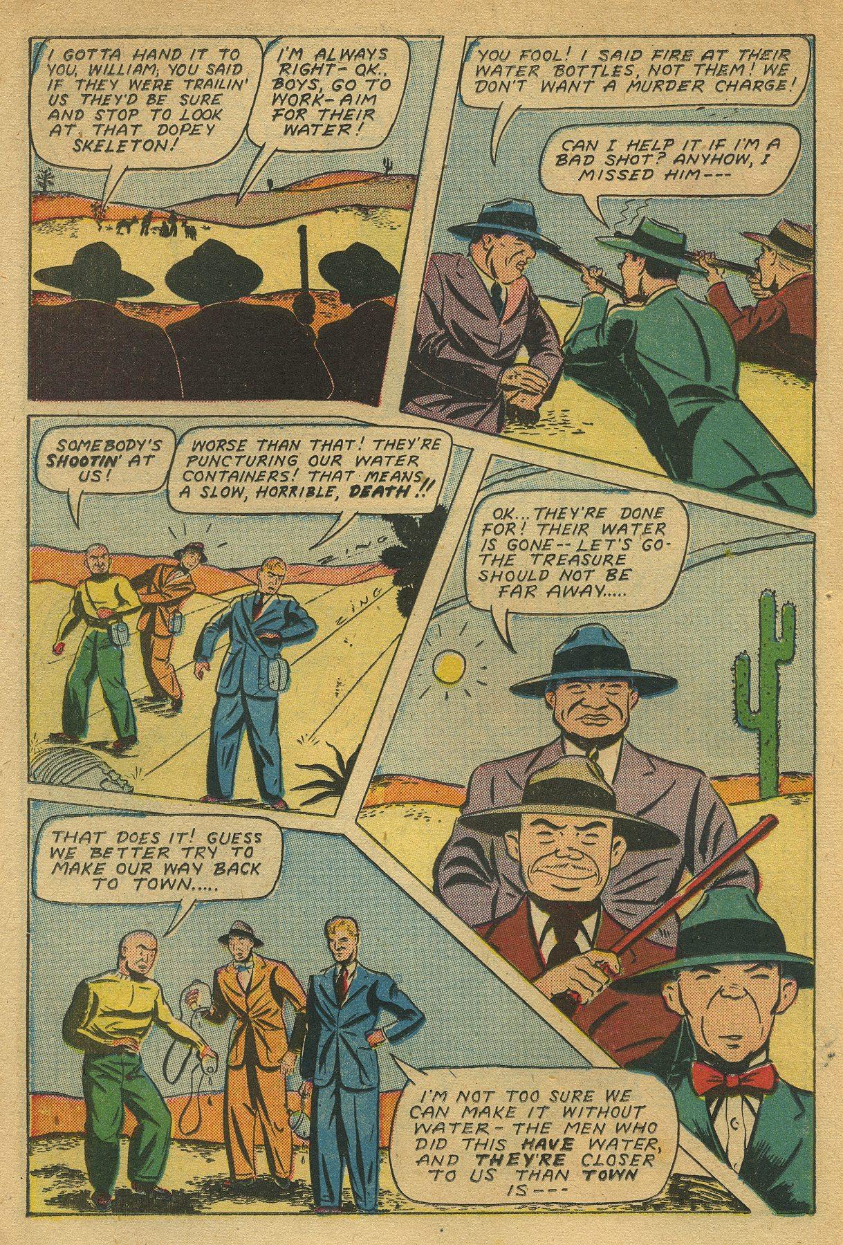 Read online Shadow Comics comic -  Issue #49 - 22