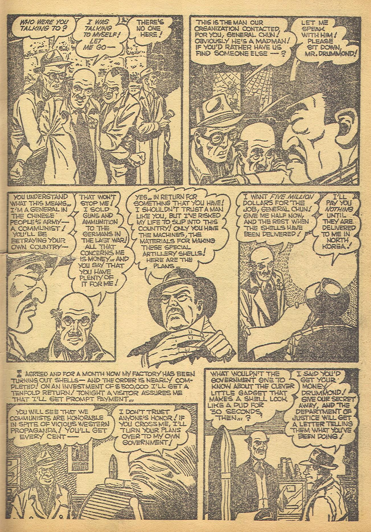 Read online Adventures into Weird Worlds comic -  Issue #8 - 8