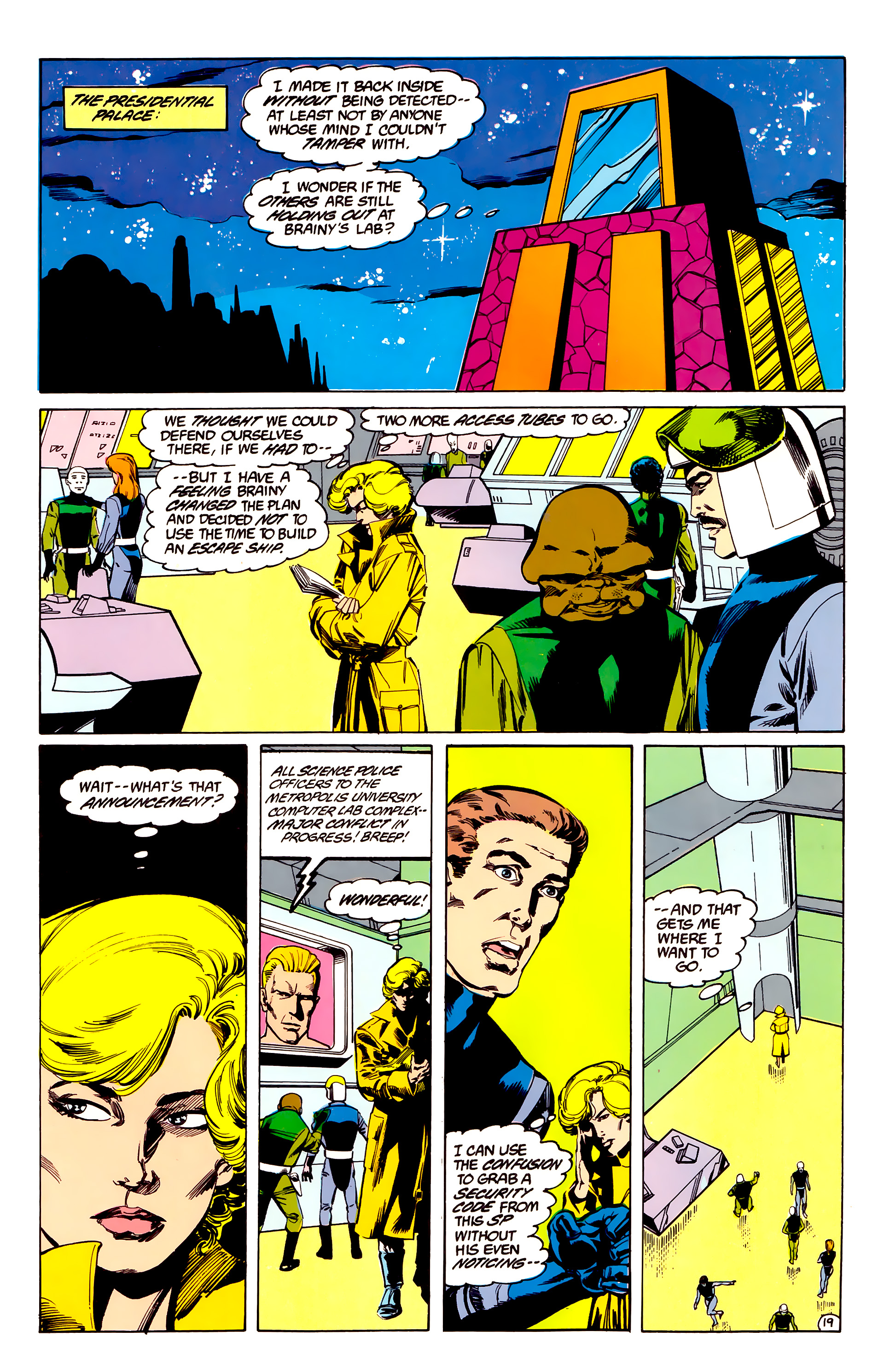 Legion of Super-Heroes (1984) 35 Page 18