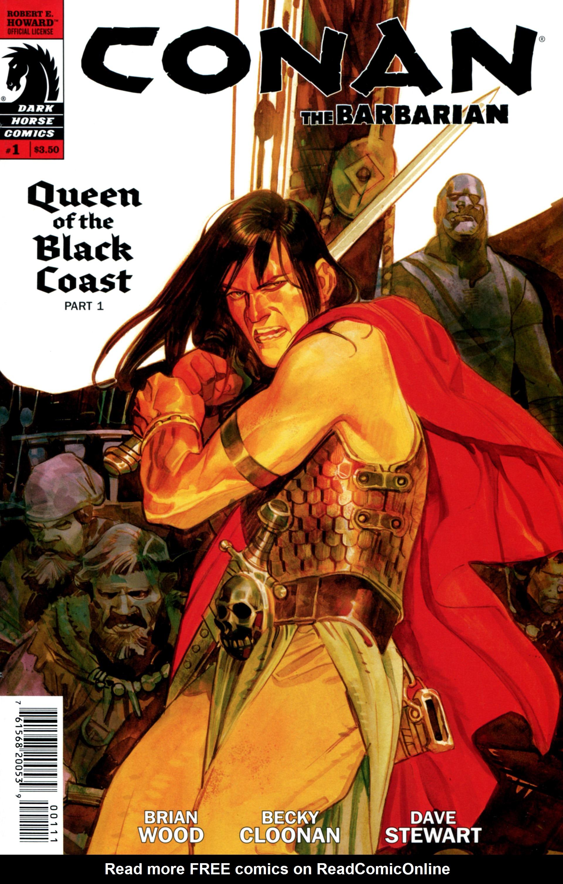 Conan the Barbarian (2012) 1 Page 1