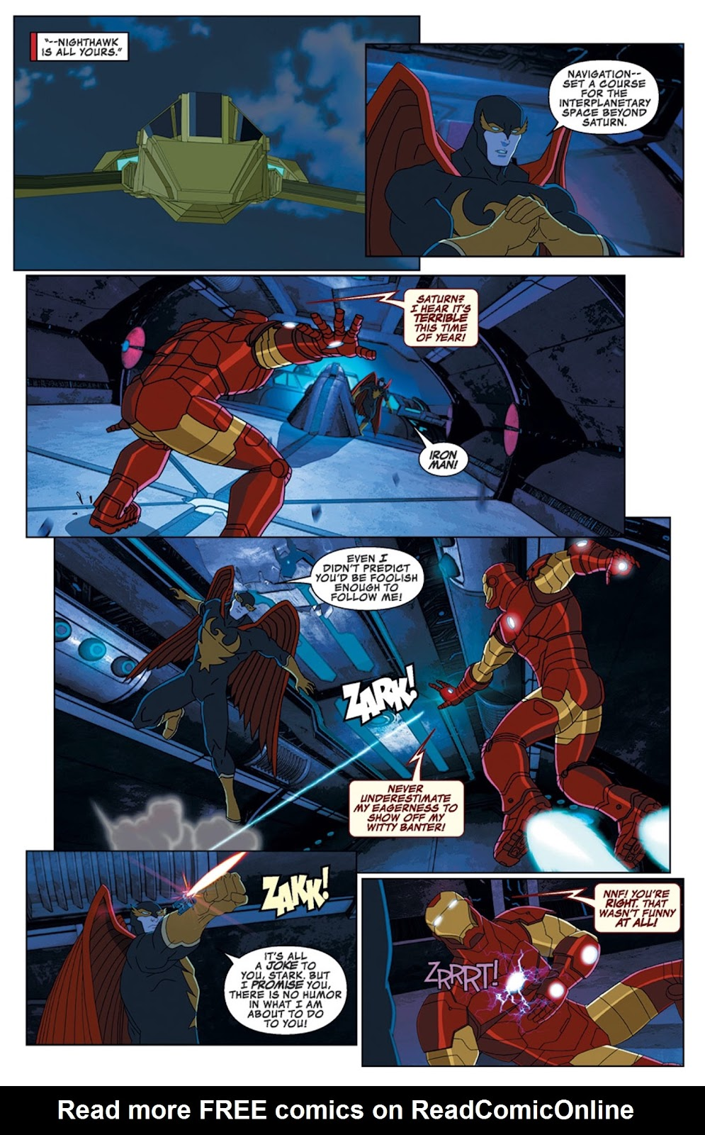 Read online Marvel Universe Avengers Assemble Season 2 comic -  Issue #14 - 21