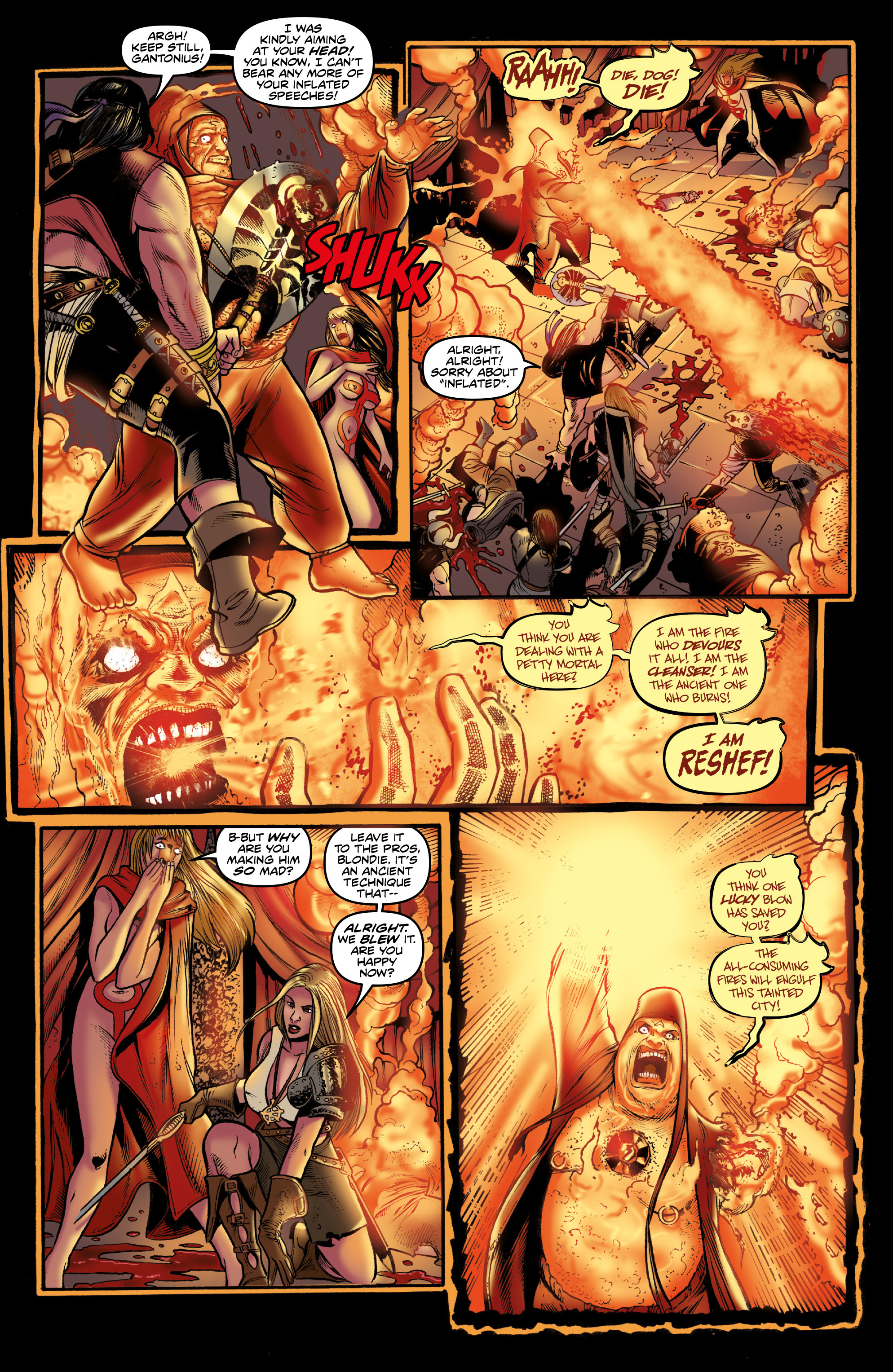Read online Rogues!: The Burning Heart comic -  Issue #3 - 16