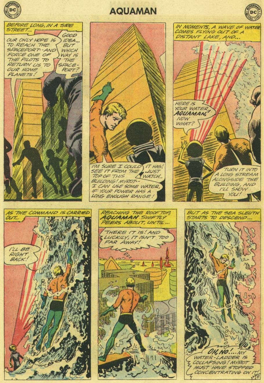 Read online Aquaman (1962) comic -  Issue #12 - 26