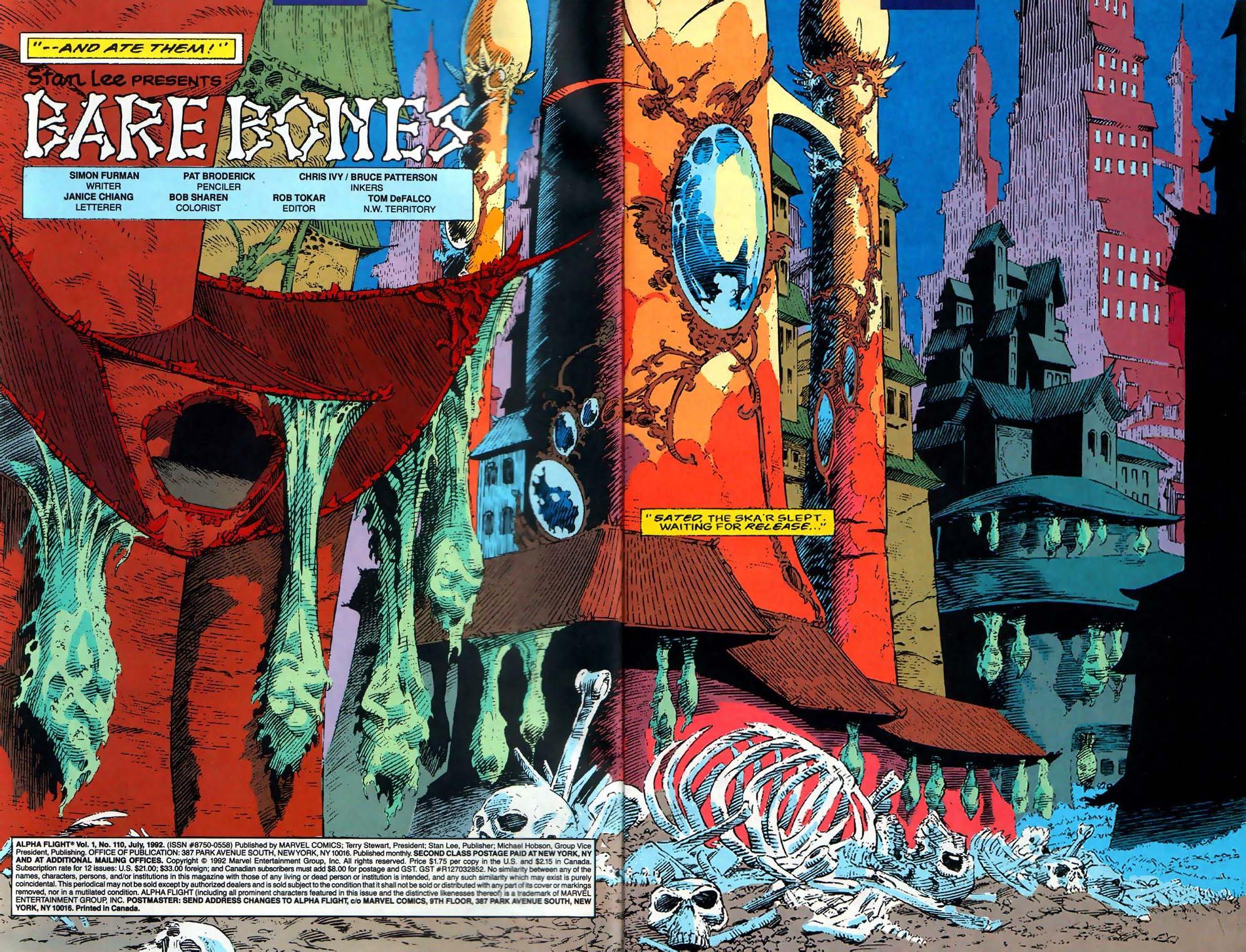 Read online Alpha Flight (1983) comic -  Issue #110 - 3